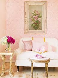 vintage pastel living rooms shabby chic living room with damask