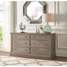 Home Decorator Collections Home Decorators Collection Aldridge 6 Drawer Antique Grey Dresser