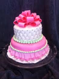 pink princess ruffle skirt cake cakecentral com