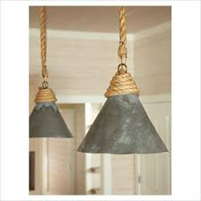 Diy Pendant Light Shade Lovely Rope Pendant Light Rope And Clear Cylinder Glass Pendant