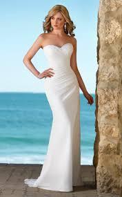 elegant beach wedding dresses