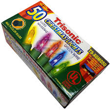 buy christmas holiday lights 50 multi color x mas bulbs online