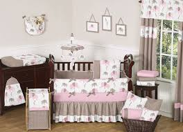 Green And Brown Crib Bedding by Baby Crib Bedding Sets Pink And Brown Best Baby Crib