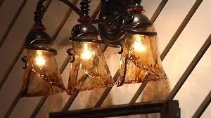 Glass Vanity Light Uttermost Vitalia 22860 Amber Glass Vanity Light Youtube