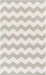 artistic weavers vogue grey u0026 white chevron collins area rug