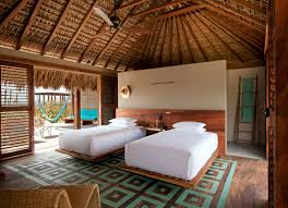 tropical luxury hotel bedroom interior design