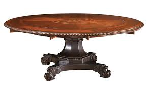 kingstown bonaire round pedestal dining table by tommy bahama home