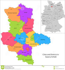 Bavaria Germany Map by State Of Germany Saxony Anhalt Royalty Free Stock Image Image