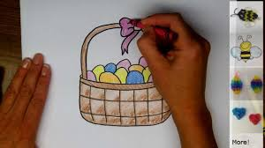 easter basket drawings u2013 happy easter 2017