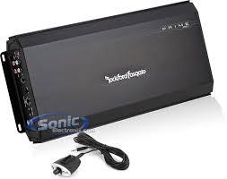 combo rockford fosgate prime r500 1 amplifier 4 gauge amp kit