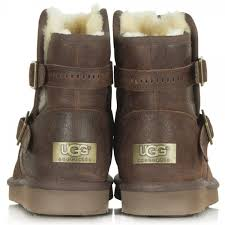 ugg boots sale in leeds ugg aiden s brown flat ankle boot