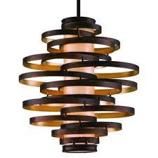corbett lighting vertigo hanging large pendant light fixture