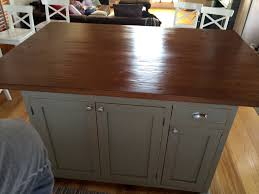 Wood Kitchen Island Table Barn Wood Kitchen Island Ecustomfinishes