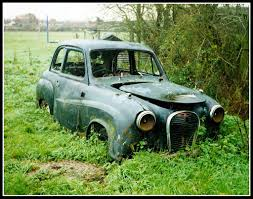 old rusty cars 1950s austin a35 this car has been in a field on a farm ne u2026 flickr