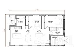 energy efficient small house plans the 1 000 square prefab house plan offers energy efficient
