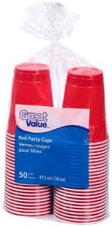 party cups great value 16 oz party cup walmart canada