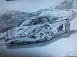 koenigsegg car drawing koenigsegg agera r by cardesigner123 on deviantart