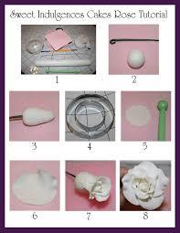 gumpaste fondant rose tutorial sugar flowers tutorials