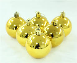 bulk ornaments decoration 4cm gold silver