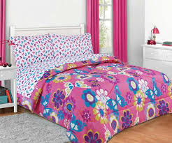 Girls Bed In A Bag by Girls Kids Bedding Maya Nt Butterfly Bed In A Bag Comforter Set