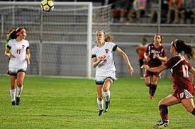 Soccer Player Resume Freshman Eve Hewins Thrilled To Open Account As Princeton Women U0027s
