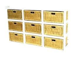 ikea baskets storage units with baskets wicker basket unit shelves full size of