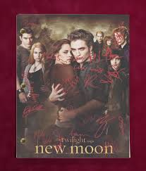 twilight new moon movie script with reproduction signatures