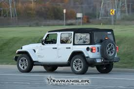 jeep wrangler rubicon colors rubicon sport and overland jl wranglers spotted in