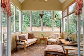 Sun Porch Windows Designs Fresco Of Furniture For Sunrooms Match Them With Your Design