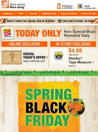 spring black friday saving in home depot 2016 home depot spring black friday is in full swing milled