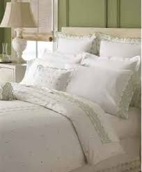 martha stewart collection trousseau rosette bedding collection