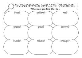 colours teaching resources printables early u0026 ks1