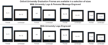 diploma frame size personalised photo frames