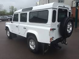 land rover defender vector used fuji white land rover defender for sale gloucestershire