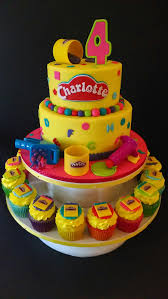 Play Doh Themed Birthday The House Of Cakes Pinterest Play