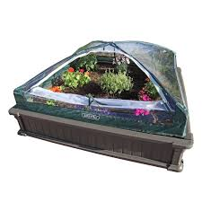 amazon com lifetime 60053 raised garde bed kit 2 beds and 1