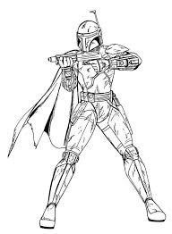 boba fett star wars coloring download u0026 print