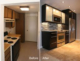condo kitchen remodel ideas galley kitchen remodel before and after on a budget