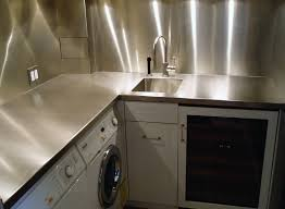 pictures of kitchen countertops and backsplashes stainless steel countertops custom