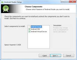how to install android studio and install android automation testing hub