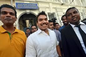 Namal Rajapaksa Cid Questions Mp Namal Rajapaksa On President U0027s Security Breach