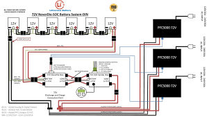 battery amp wiring diagram components