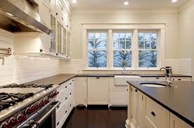 white or off white kitchen cabinets is the sink in this kitchen white or biscuit off white