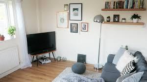 minimalism series living room tour youtube