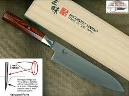 mcusta kitchen knives cook s knife 180 mcusta zanmai twisted la bottega coltello