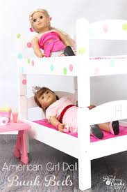 18 Inch Doll Bunk Bed Diy American Doll Bunk Beds