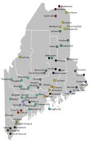 University Of Portland Map by Maine Primary Care Association