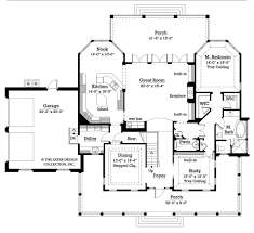 Country Kitchen Floor Plans by Country Style House Plan 3 Beds 3 50 Baths 3528 Sq Ft Plan 930 10