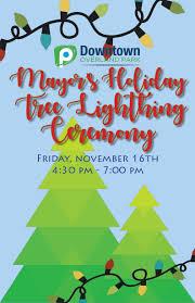 the mayor s tree lightingdowntown overland park