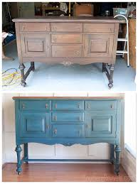 making over an antique sideboard buffet the client files